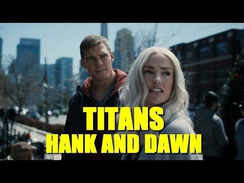 El MEJOR episodio de TITANS hasta ahora: 1x09 HANK AND DAWN