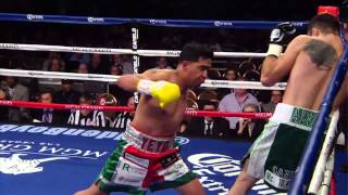 Ricardo Alvarez vs. Sergio Thompson - 1st Round - SHOWTIME Boxing
