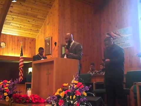 """""""I Can't Stay Right Here"""" Guest Speaker Reverend Zeb Talley III"""