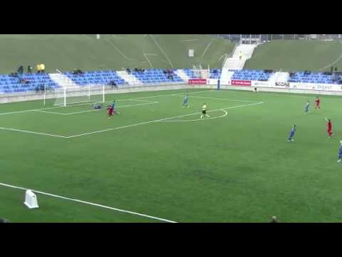 Karamokoba junior keita CF Badalona contra AT saguntino