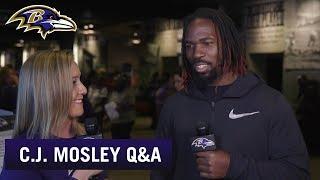 C.J. Mosley Q&A | Baltimore Ravens