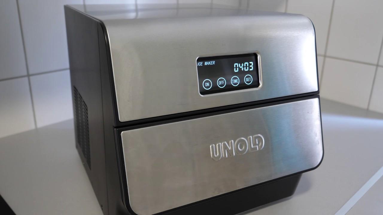 Unold Mini Kühlschrank : Test: unold eisbereiter edel ice maker eiswürfelmaschine youtube