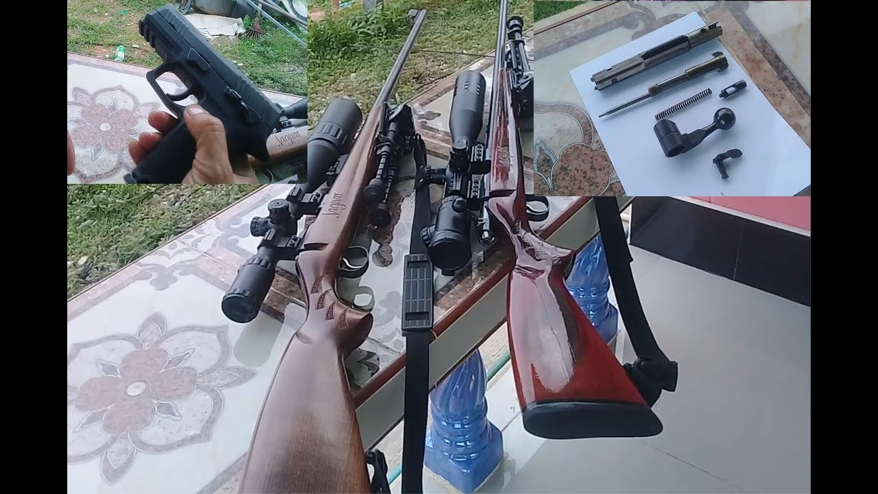CZ 455 jaguar ถอดประกอบปืน ล้างปืน ปืนสั้น SIGSAUER P320SP ปืนยาว แบบบ้านๆ