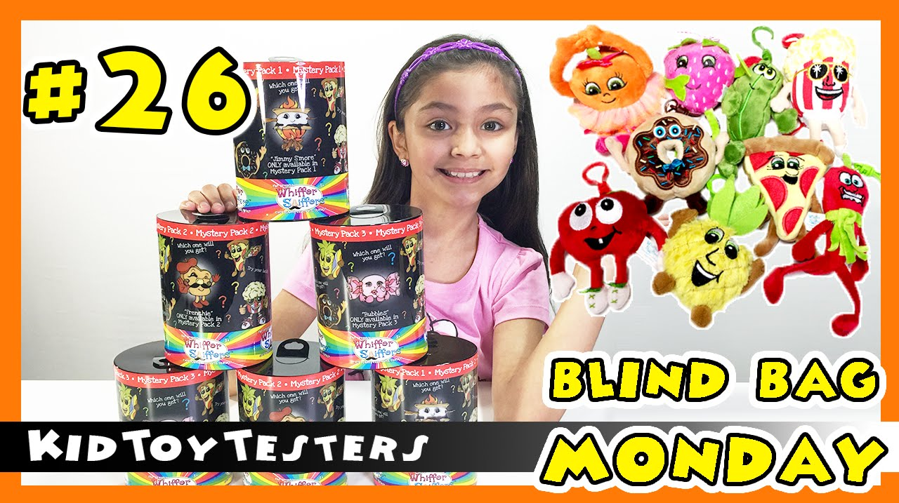 Whiffer Sniffers Blind Bag Monday Will I Get A Rare One