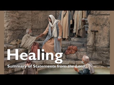 JESUS EXPLAINS THE GIFT OF HEALING ❤️ Summary of Statements from the Lord