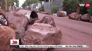 Đồng Nai: xe tải né trạm thu phí, dân lại vần đá chặn đường - Tin Tức VTV24