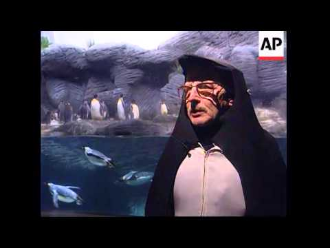 Belgium - The penguin man