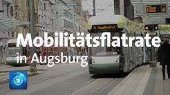 Mobilitätsflatrate in Augsburg