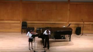 44 Duets for Violin, Mvts. II, I and III - Bartok