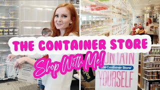 SHOP WITH ME AT THE CONTAINER STORE // Shop The Kitchen Sale With Me (Fridge + Pantry)