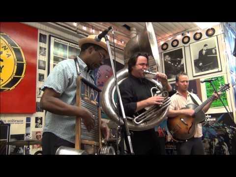 Tin Men @ Louisiana Music Factory JazzFest 2013
