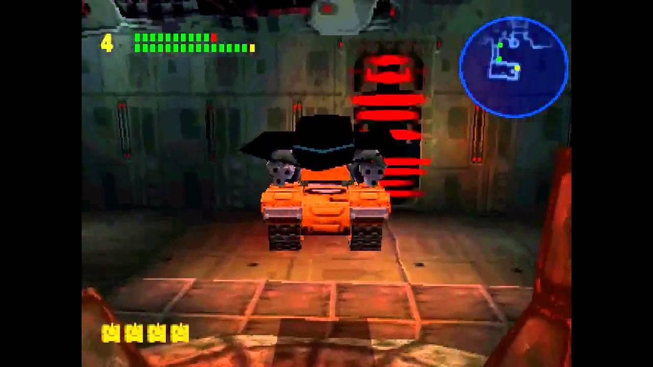playstation 1 tank game