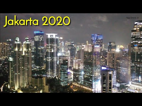 Jakarta 2020, Drone Footage Capital City Of Indonesia