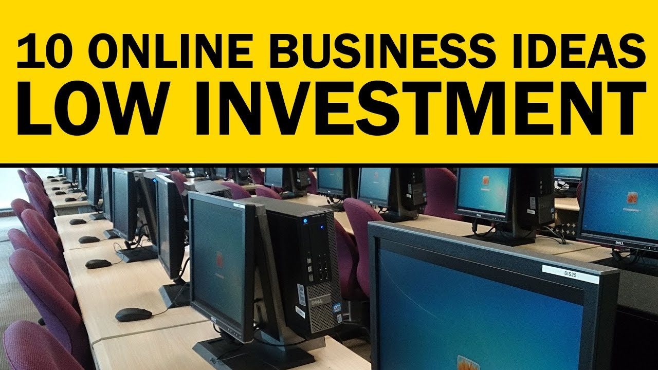Internet Business Ideas 2020.10 Online Business Ideas With Low Or No Investment In 2020