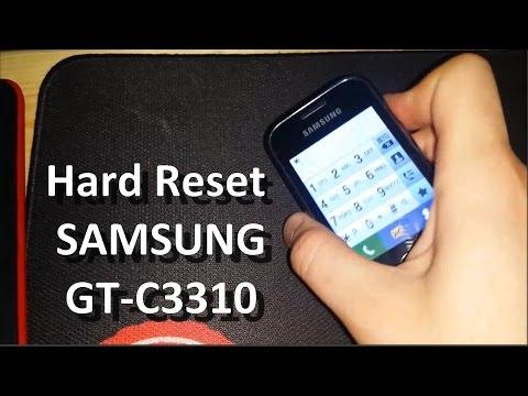 Hard Reset SAMSUNG GT C3310