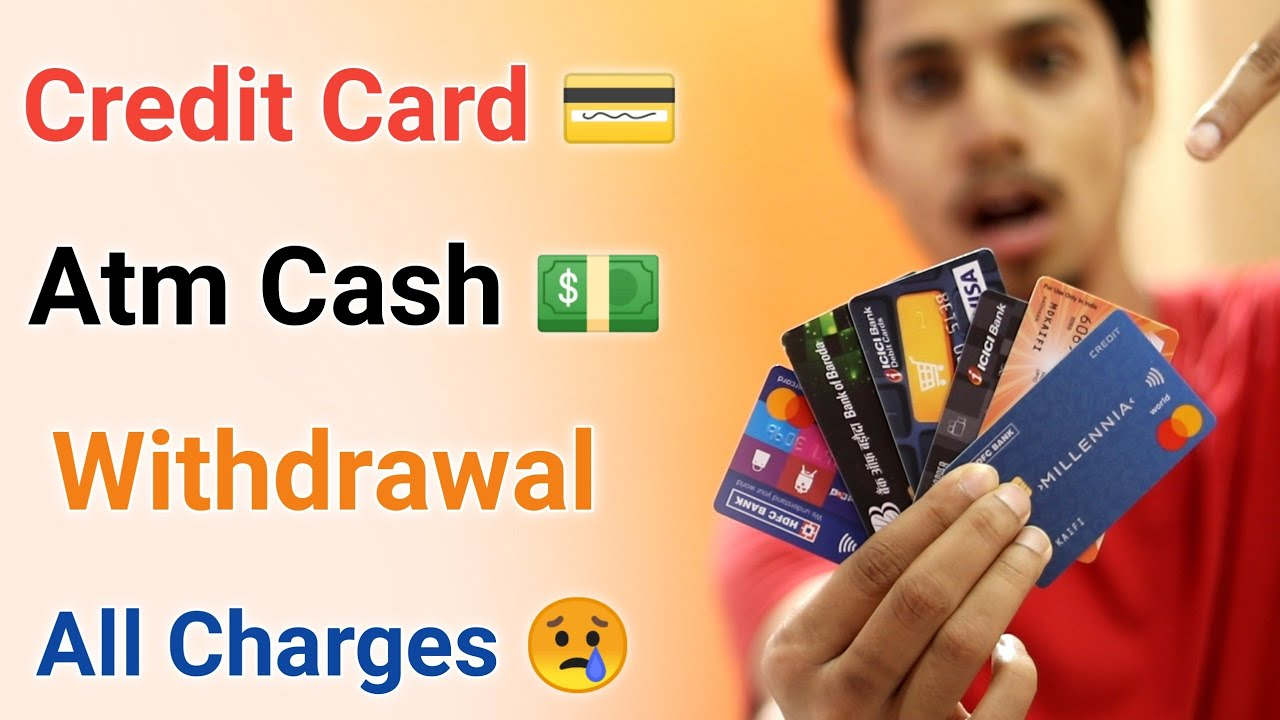 Credit Card Atm Cash Withdraw Charges Hdfc Icici SBI Axis¦Credit Card Cash Advance Fee FinanceCharge