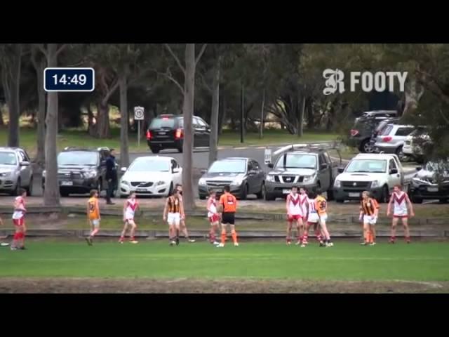 2013 SMJFL Grand Final Under 14 Div 4 - South Melbourne Red v East Sandringham 2