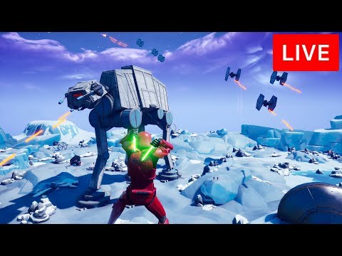 🔴 [LIVE] *NEW* FORTNITE X STAR WARS EVENT! - NEW RISKY REELS EVENT! (FORTNITE BATTLE ROYALE)
