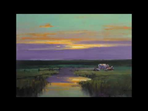Sunset landscapes by Dutch artist Cees Vegh (2017)
