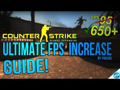 CSGO: Dramatically increase performance / FPS with any setup