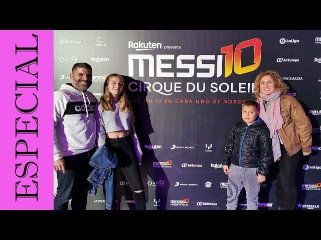 Messi Cirque du Soleil Messi10 | Barcelona