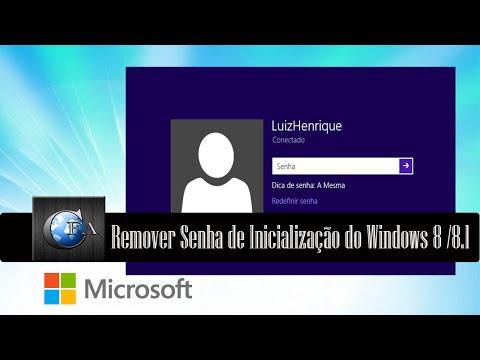 Tutorial Desativar Senha de Inicialização do Microsoft Windows 8.1