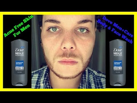 Acne Free Skin For Men My Showering Routine Youtube