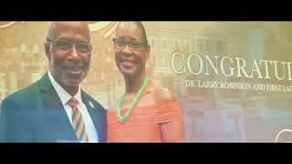 """Congratulations Dr.Larry Robinson"""