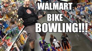 INSANE WWE Figure HUNT at WALMART! Mattel Elite series Toys! BIKE BOWLING CRAZINESS!