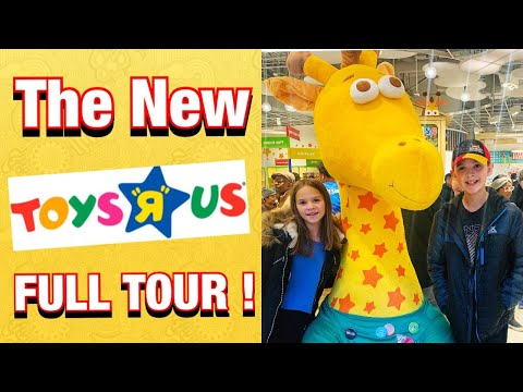 Toys R Us Is BACK!!! FULL STORE TOUR | NEW JERSEY