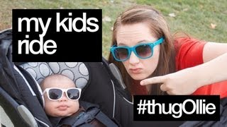 MY KID'S RIDE - Britax B-Agile Travel System Review