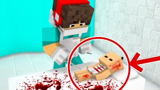 Minecraft Pocket Cirurgia - BEBÊ STEVE QUASE MORREU !! (Minecraft Pocket Edition 0.15.2)