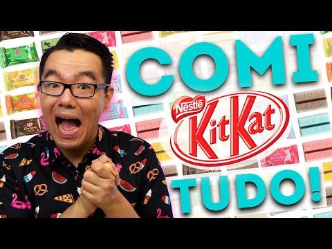 LOJA de KIT KAT em São Paulo: COMI TUDO! | PratoFundo
