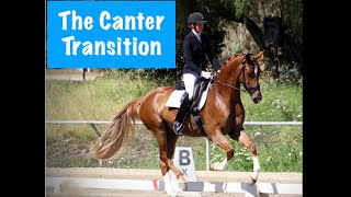 The Trot Canter Transition: Common Mistakes and Fixes