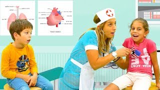 Doctor Checkup Song I Learn To Live Healthy With Nursery Rhymes