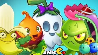 Plants Vs Zombies 2: Big Wave Beach ALL Plants Power Up