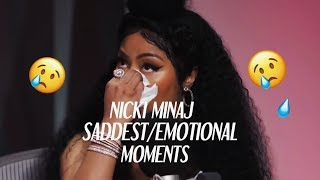Nicki Minaj  SaddestEmotional Moments COMPILATION