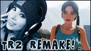 FULL Tomb Raider 2 Fan Remake by Nicobass! Gameplay and Reaction