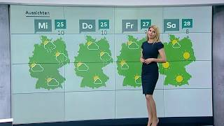 N24 Wetter - Die Woche geht seht sonnig weiter