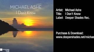 Michael Ashe - I Don