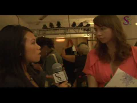 Leanne Marshall Interview Mercedes Benz Fashion Week NY 2010