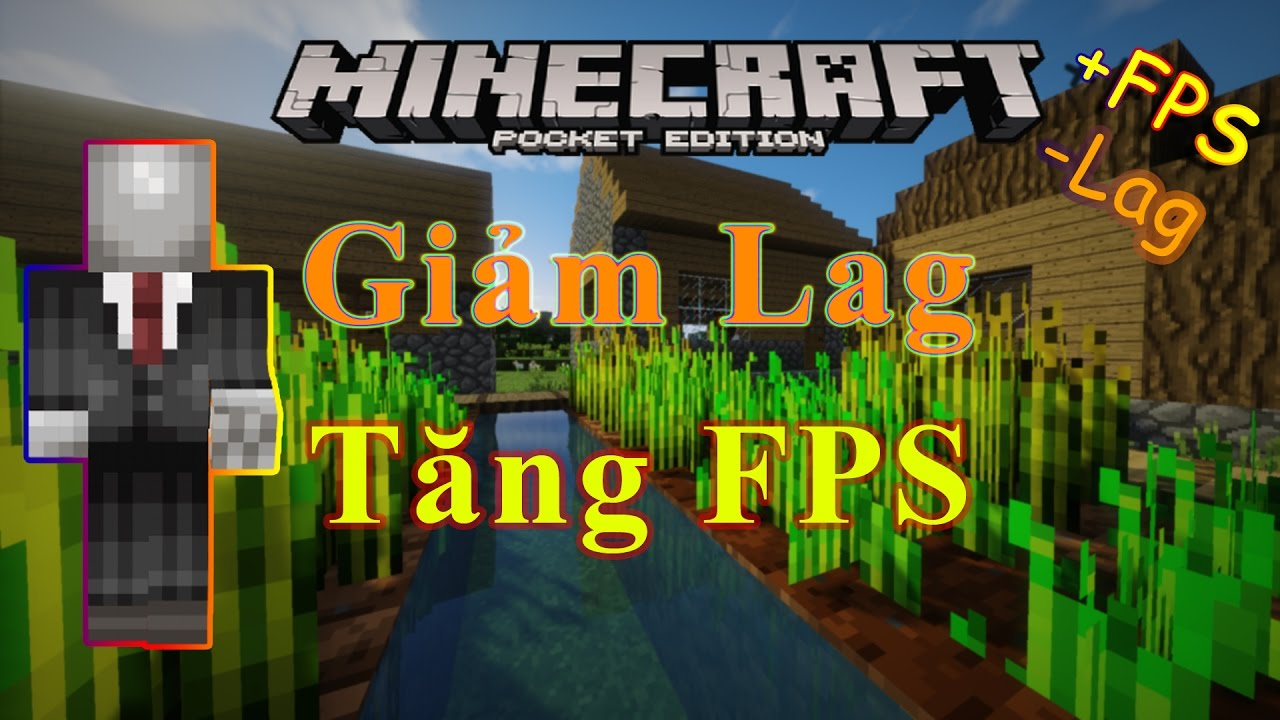 HƯỚNG DẪN GIẢM LAGGGGG 100% CHO MCPE | Resource Pack Optifine | Minecraft PE 1.0.2