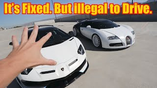 The Dumb Reason I Cannot Drive my Bugatti Veyron Anymore.