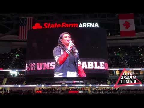 Koryn Hawthorne Performs With The Atlanta Hawks at Halftime & Postgame On MLK Day