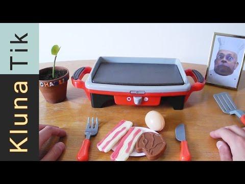 Kluna FAILED cooking class today!!! Kluna Tik Dinner #32 | ASMR eating sounds no talk
