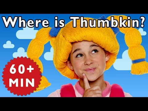 Where is Thumbkin? and More   Nursery Rhymes from Mother Goose Club!
