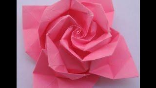 Origami: flor - Hogar Tv  por Juan Gonzalo Angel