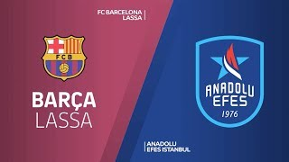 #EuroLeague #Playoff 3. Maç: Barcelona Lassa - Anadolu Efes