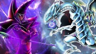 DARK MAGICIAN VS BLUE EYES WHITE DRAGON! Rhymestyle vs DFree BATTLE! | [Yu-Gi-Oh! Duel Links] thumbnail