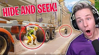 Bestes VERSTECK in ganz TILDED TOWERS( 200 IQ!) Hide and Seek Fortnite thumbnail